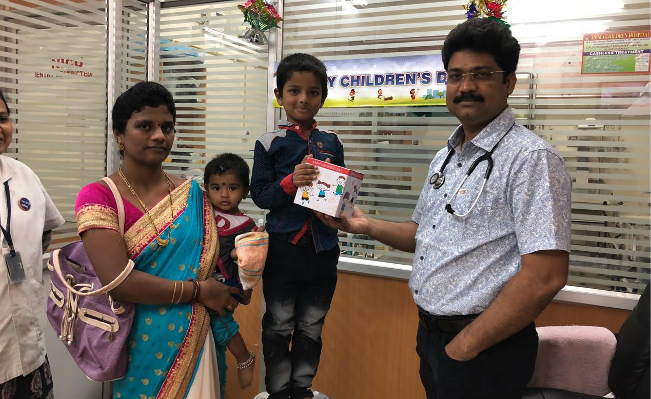 Amma Children Hospital Celebrating Children's Day